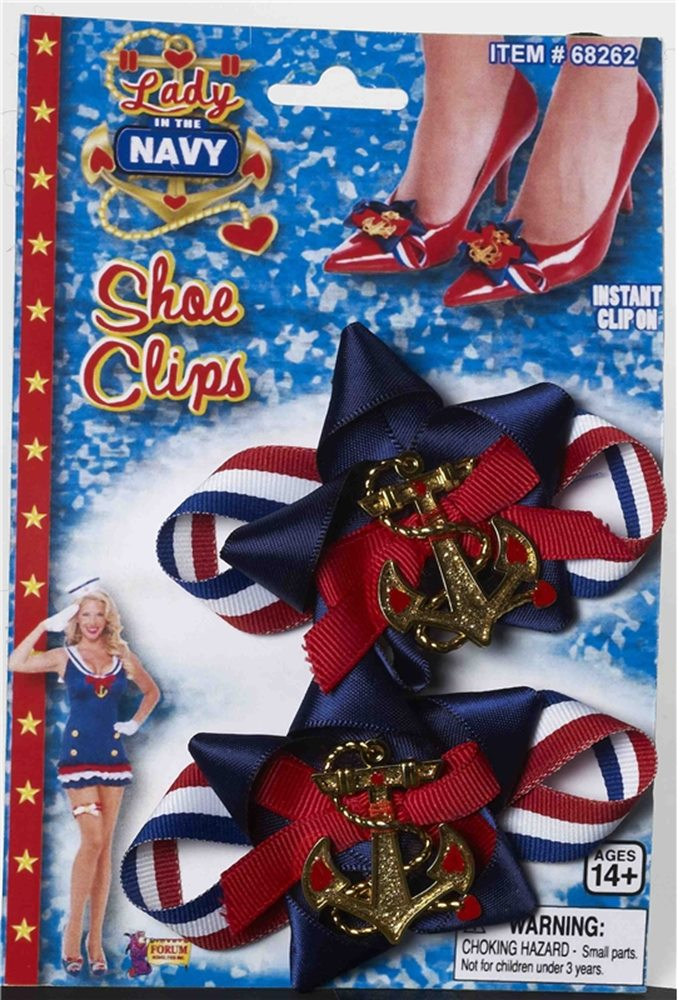 Picture of Lady In The Navy Shoe Clip