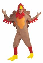 Picture of Turkey Fleece Adult Costume