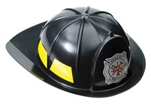 Picture of Black Fireman Hat