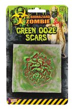 Picture of Biohazard Green Ooze Adult Scar