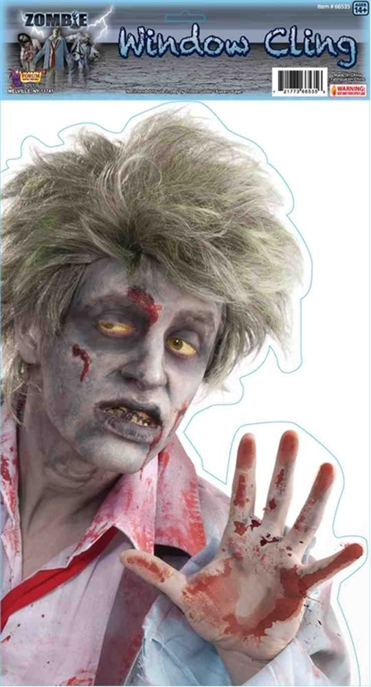 Picture of Peeping Zombie Window Cling