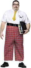 Picture of Nerd Jumpsuit Plus Size Adult Mens Costume