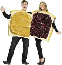 Picture of PB&J Couple Adult Costume