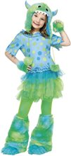Picture of Monster Miss Child Costume