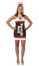 Picture of Tootsie Roll Teardrop Dress Adult Women Costume