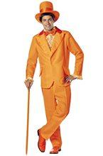 Picture of Dumb and Dumber Lloyd Orange Tuxedo Adult Mens Costume