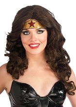 Picture of Wonder Woman Glitter Crown Tattoo