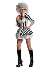 Picture of Miss Beetlejuice Adult Womens Costume