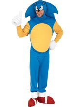 Picture of Sonic the Hedgehog Deluxe Adult Mens Costume