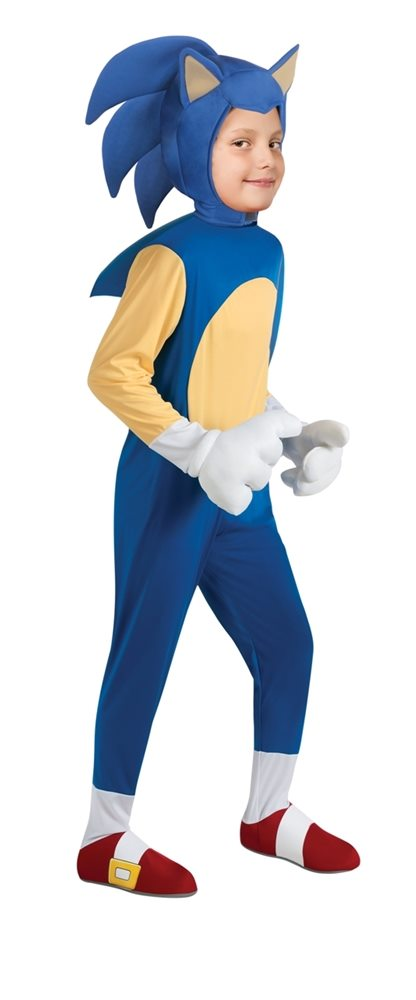 Picture of Sonic The Hedgehog Deluxe Child Costume
