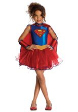 Picture of Supergirl Tutu Dress Child Costume