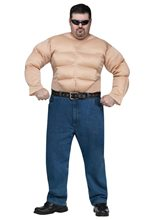 Picture of Muscle Chest Shirt Adult Mens Plus Size Costume