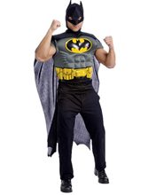 Picture of Batman Adult Mens Muscle Shirt & Cape