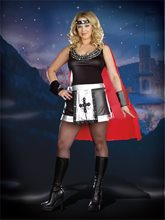 Picture of Battle Babe Adult Womens Plus Size Costume