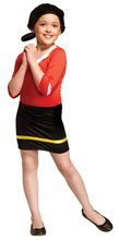 Picture of Popeye Olive Oyl Child Costume