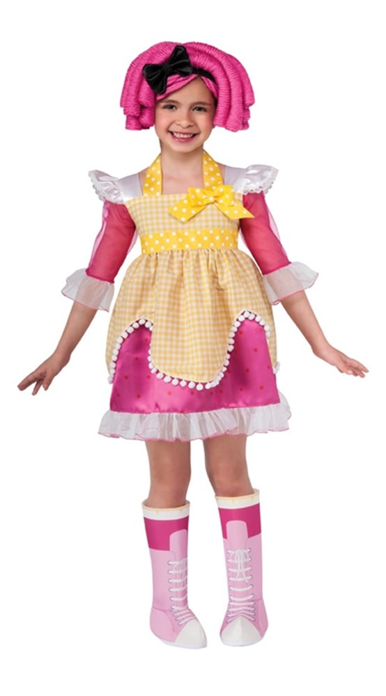 Picture of Lalaloopsy Deluxe Crumbs Sugar Cookie Child Costume