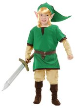 Picture of Elf Warrior Child Costume