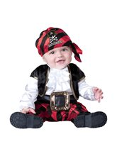 Picture of Cap'n Stinker Pirate Infant Costume