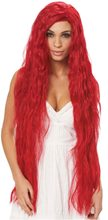 Picture of Hot Red Fantasy Maiden Long Wig