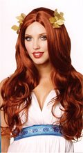 Picture of Red Long Greek Goddess Wig