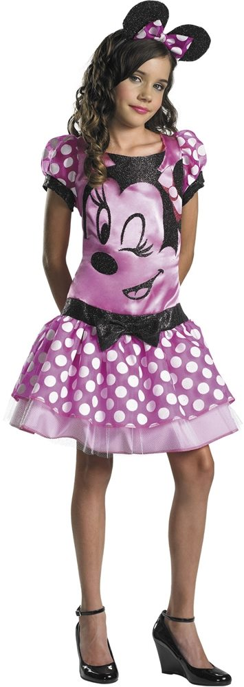 Picture of Clubhouse Minnie Mouse Pink Child Girls Costume