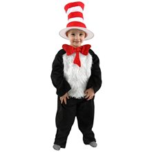 Picture of Dr. Seuss Cat in the Hat Toddler Costume