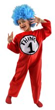 Picture of Dr. Seuss Thing 1 And 2 Costume - Child Costume