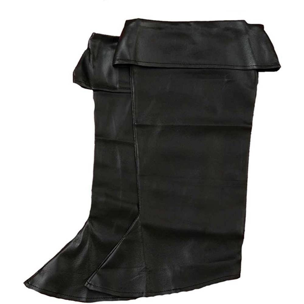 Picture of Black Pirate Child Boot Tops