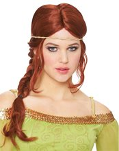Picture of Natural Red Medieval Braid Wig