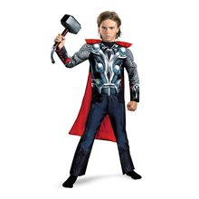 Picture of Thor Classic Avengers Muscle Child Costume