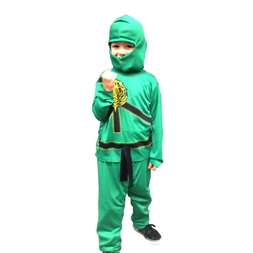 Picture of Green Ninja Avengers Childs Pajama Costume