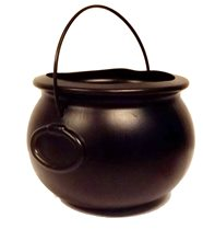 Picture of Black Cauldron With Handle 8in