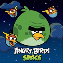 Picture of Angry Birds Space Luncheon Napkins