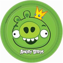 Picture of Angry Birds Dessert Plates