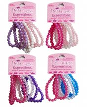 Picture of Princess Bead Bracelets 6pc