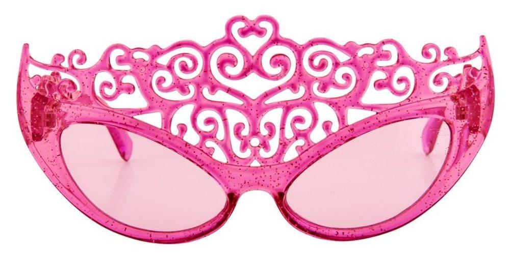 Picture of Pink Glitter Princess Tiara Sunglasses
