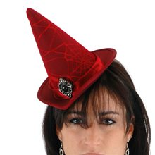 Picture of Lace Cocktail Witch Hat (More Colors)