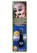 Picture of Black Lipstick & Nail Polish