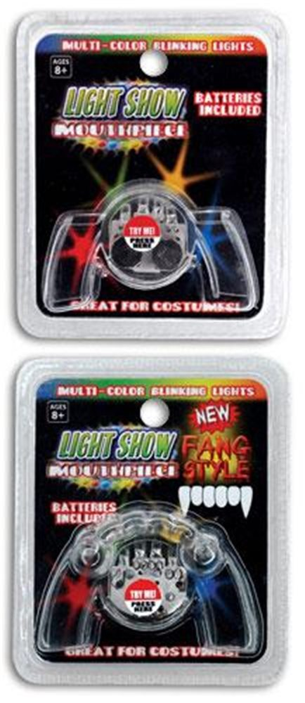 Picture of Light Up Fangs And Mouthpieces