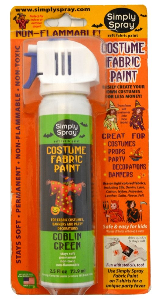 Picture of Green Spray Simply Soft Fabric Paint