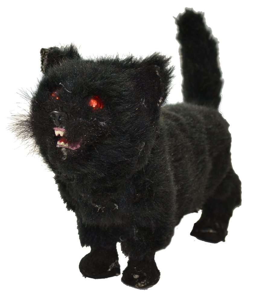 Picture of Black Cat Stand Up Prop