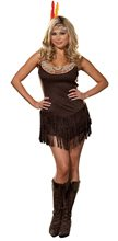 Picture of Pocahottie Adult Womens Plus Size Costume