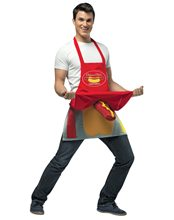 Picture of Hot Dog Vendor Adult Mens Costume