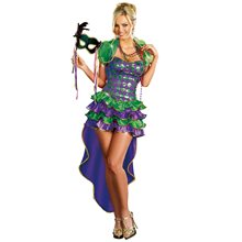 Picture of Mardi Gras Maven Adult Womens Costume