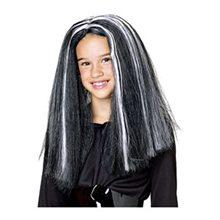 Picture of Glow Streaks Witch Child Wig
