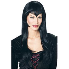 Picture of Vampire Black Adult Womens Wig