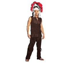 Picture of Chief Long Arrow Adult Mens Costume