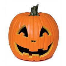 Picture of Realistic Jack-O-Lantern Pumpkin Halloween Decoration