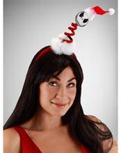 Picture of Mini Springy Santa Jack Headband