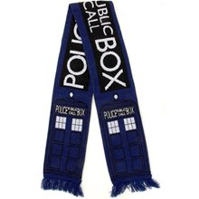 Picture of Doctor Who TARDIS Scarf